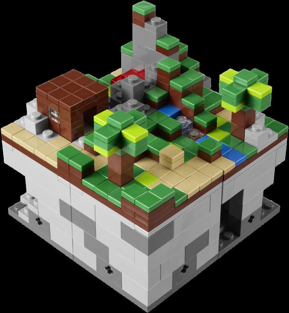 Announcing LEGO Minecraft™ Micro World, the third LEGO® CUUSOO product. - LEGO CUUSOO Blog